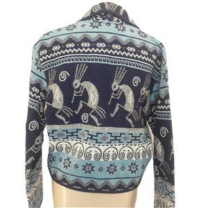 New Flashback Jacket Aztec Mayan Womens Size M Wov
